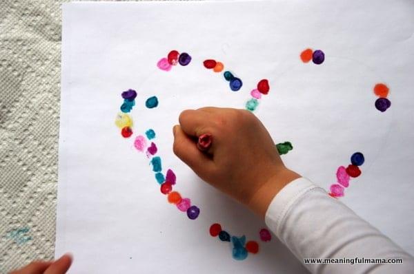 1-#valentinescraft melted crayon dot heart-021