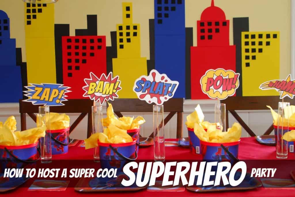 #superhero birthday party #ideas #3 year old-051