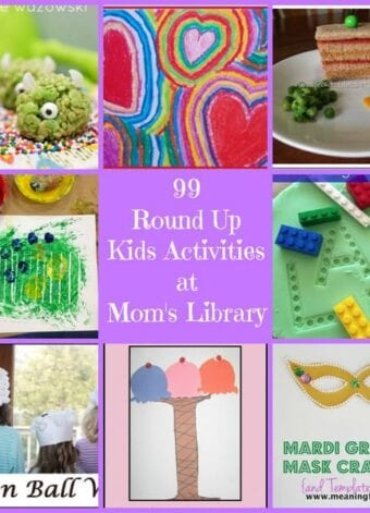 99 Round up Kids' Activities at Mom's Library