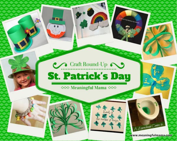 1-#StPatrick'sDay Craft Round Up Ideas