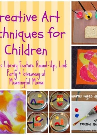 Creative Art Techniques for Kids and Mom's Library