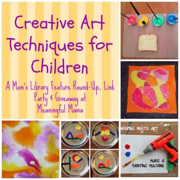 1-#creative art techniques kids