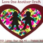 Love One Another Craft – AWANA Cubbies Bear Hug #15