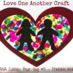 Love One Another Craft – AWANA Cubbies Bear Hug #15