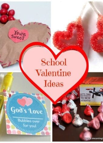 School Valentine Ideas and Mom's Library