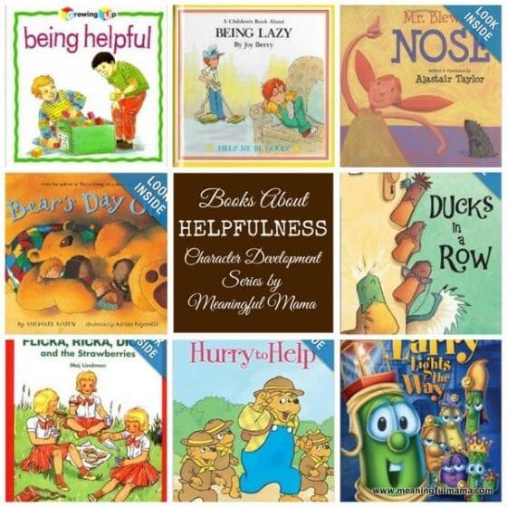 Books that teach Helpfulness
