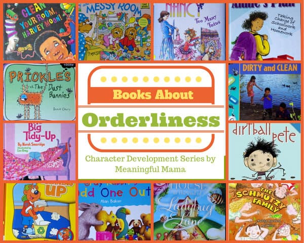 1-books on orderliness cleanliness