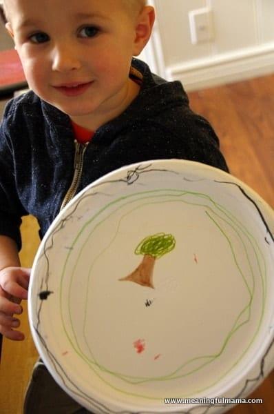 1-magnet track road kids craft paper plate Mar 3, 2014, 4-017