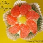 Orange Slice Spring Cupcake