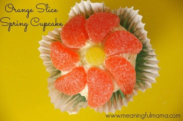 1-#orange slices candy flower cupcakes  Feb 6, 2014 2-045