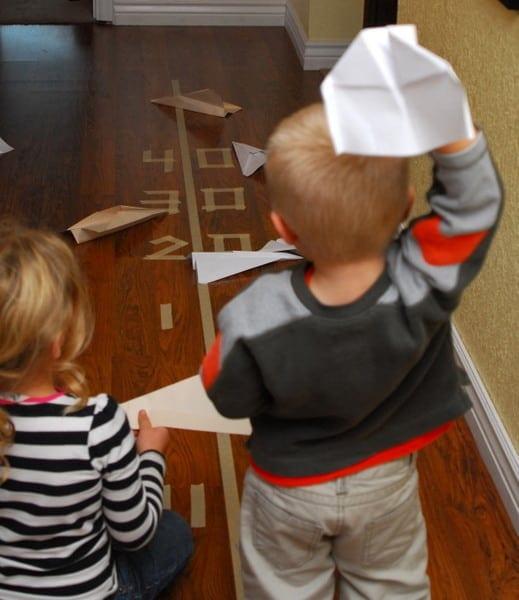 1-#paper plane activity #landing strip #bulls eye-003