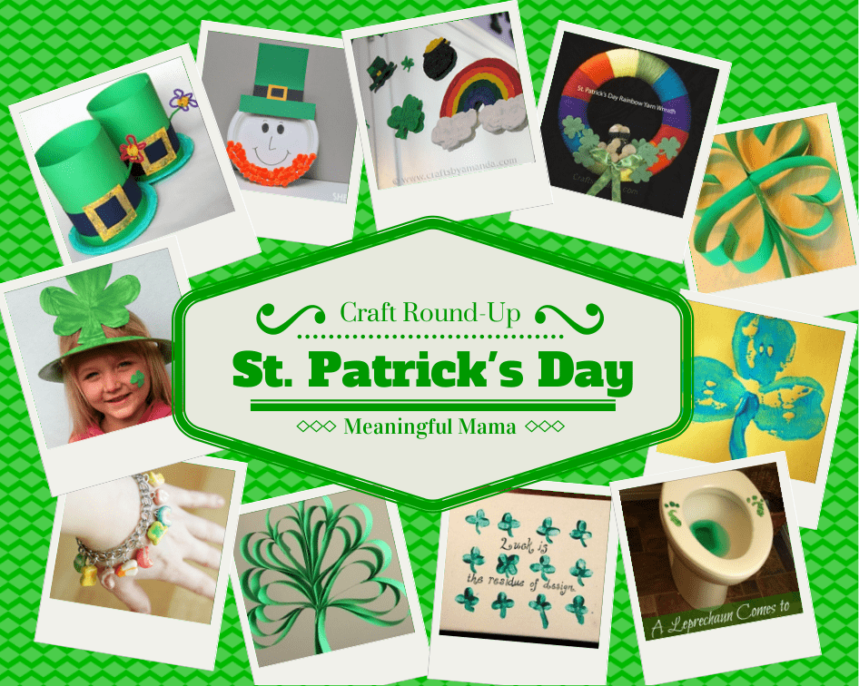 #StPatrick'sDay Craft Round Up Ideas