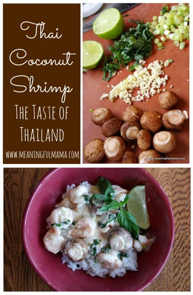 Thai Coconut Shrimp Recipe