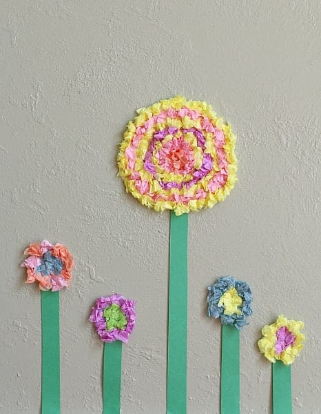 flower crafts kids