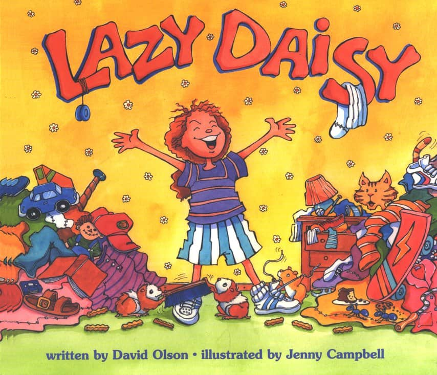lazy daisy books on cleanliness