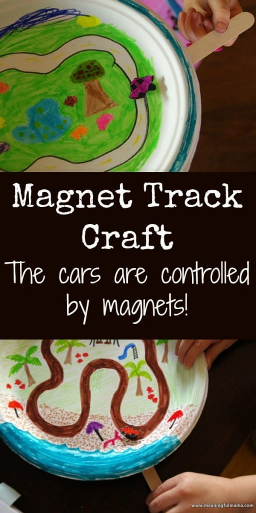 magnet car track craft
