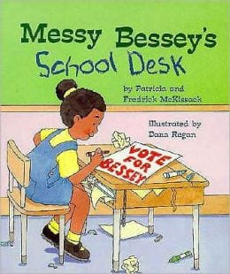 messy bessy books on cleanliness