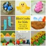 Bird Crafts at Mom's Library