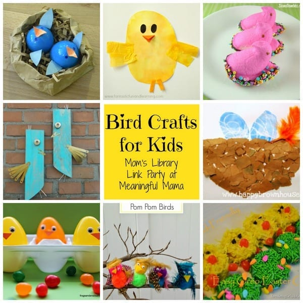 1-Bird Crafts for Kids