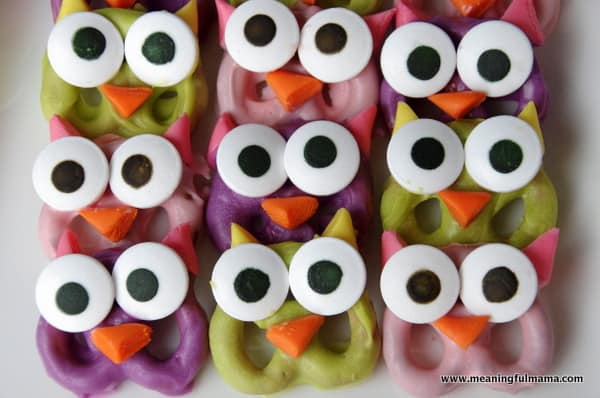 1-owl pretzels food ideas birthday party Apr 5, 2014, 8-47 AM