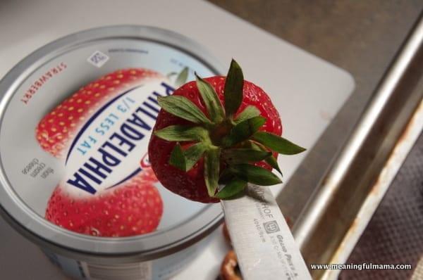 1-owl strawberries food philadelphia cream cheese spread Mar 31, 2014, 9-32 AM