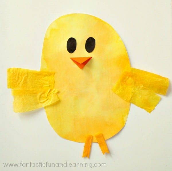 Chick-Bleeding-Tissue-Paper-Easter-Craft