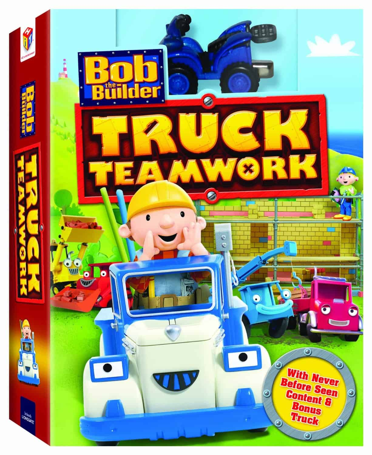 books about cooperation bob the builder truck teamwork