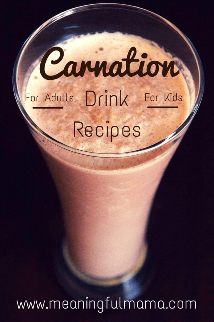 Carnation Drink Recipes