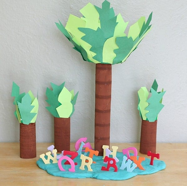 Recycled Materials Crafts
