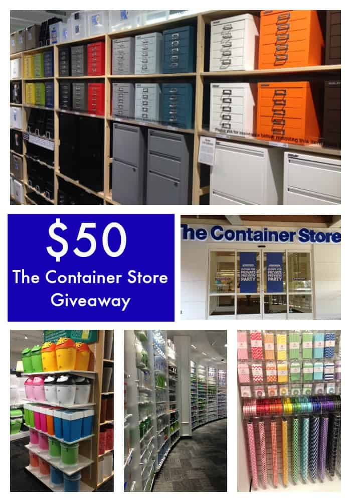 The Container Store Giveaway