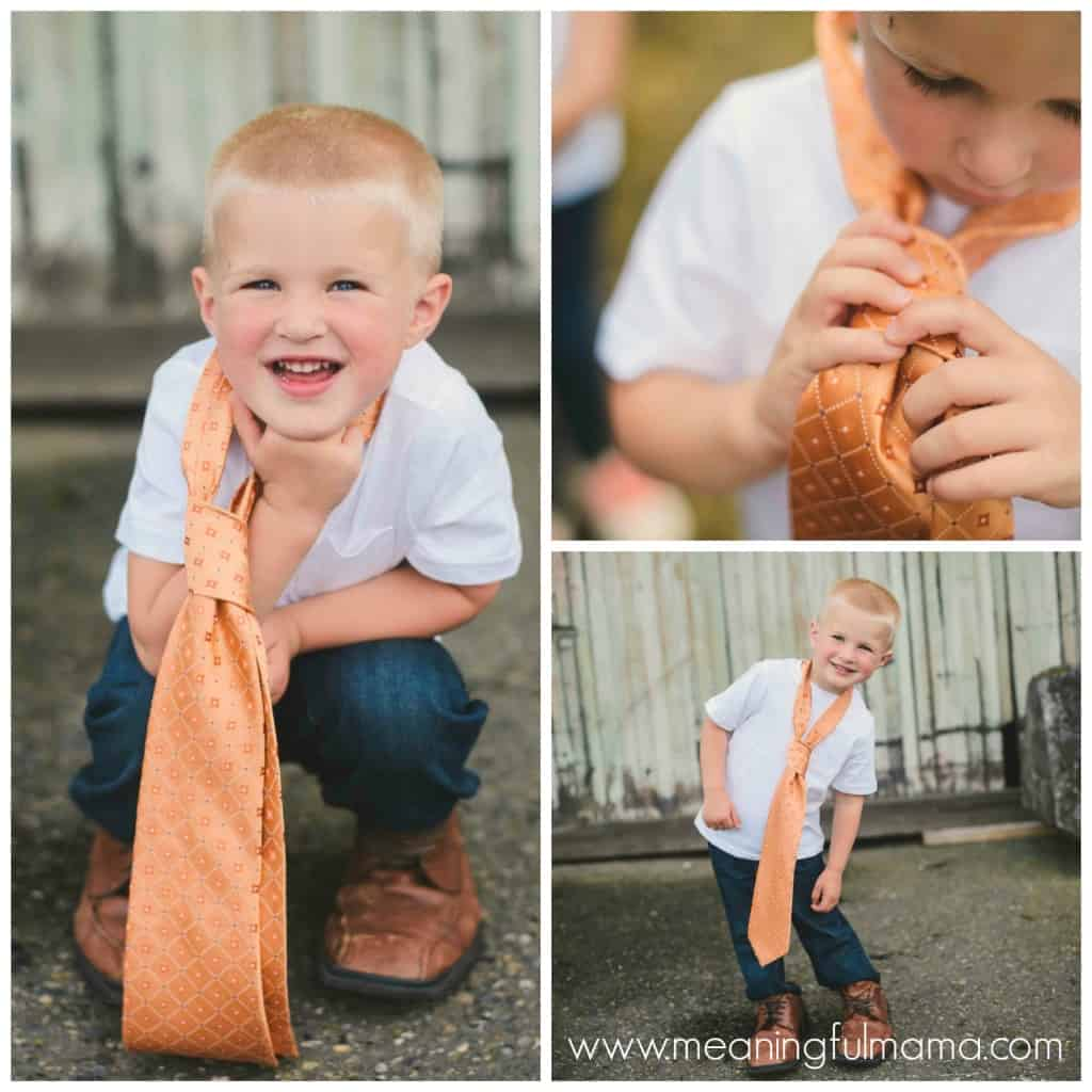 father's day photo ideas photography tie shoes