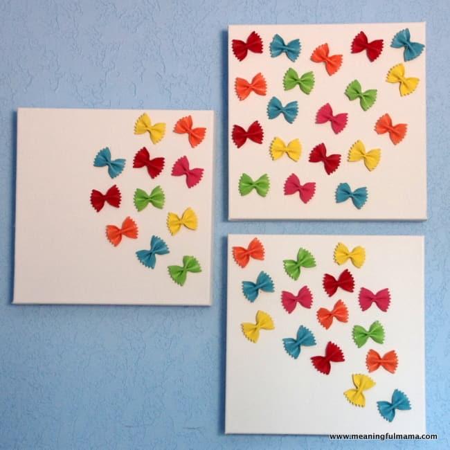 1-butterfly pasta craft art butterflies kids May 12, 2014, 1-28 PM