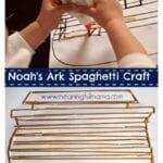 Noah's Ark Spaghetti Craft