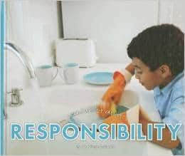 Responsibility learn about values books