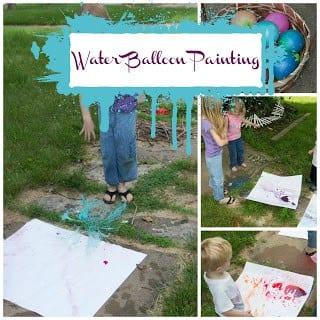 Waterballoonpainting
