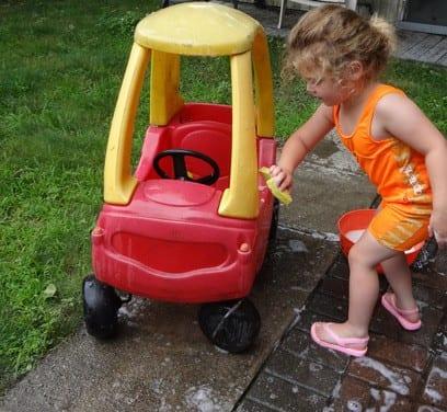 backyard carwash