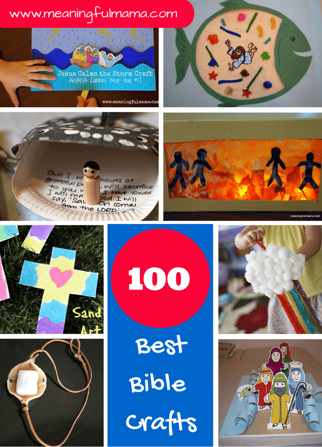 Exceptional Bible Craft Ideas For Kids Part - 5: Meaningful Mama