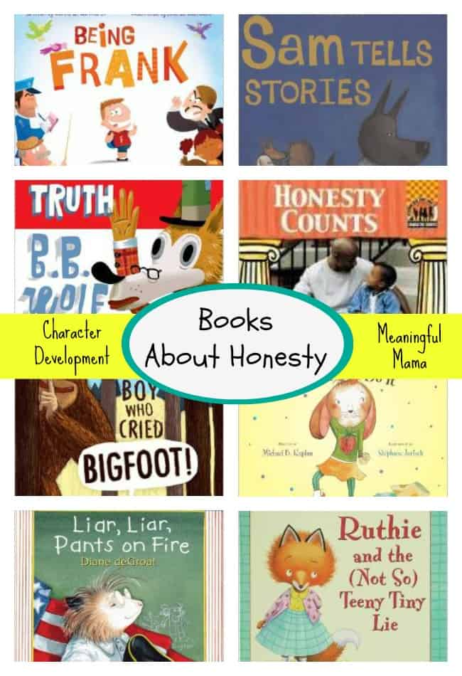 books about honest for kids character