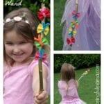 Garden Fairy Butterfly Wands