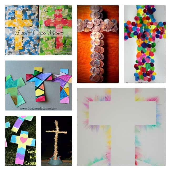 100 best bible crafts and activities for kids for Cross craft for kids