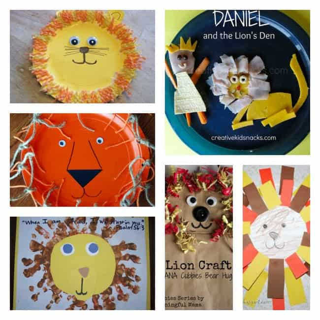 daniel lions den craft kids bible