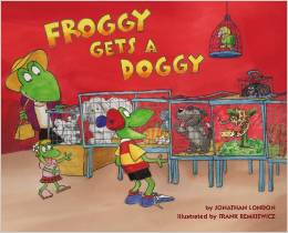 froggy gets a doggy books about responsibility