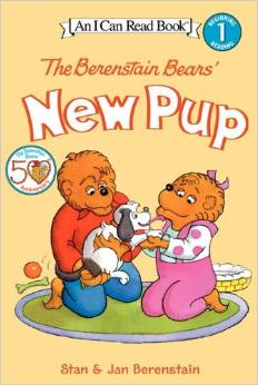 new pup berenstain bears books about responsibility