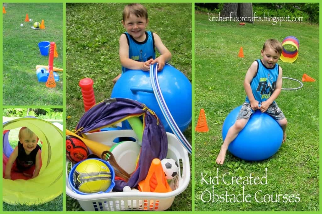 obstacle course for kids