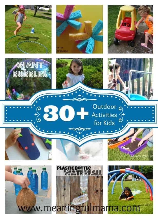 outdoor activities for kids summer