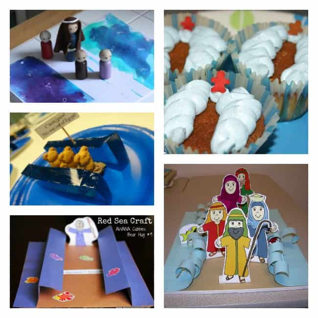 red sea craft for kids bible
