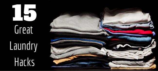 15 great laundry hacks