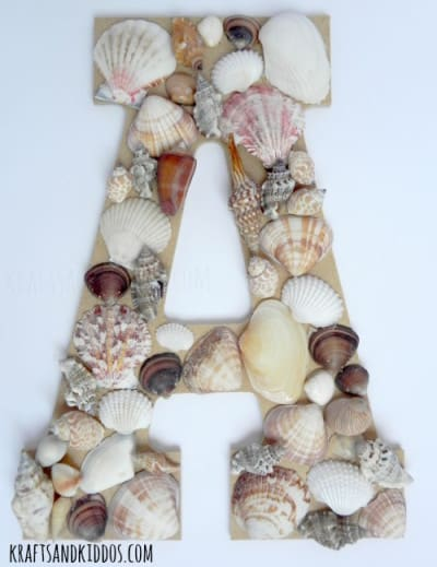 Seashell-Letter-Craft