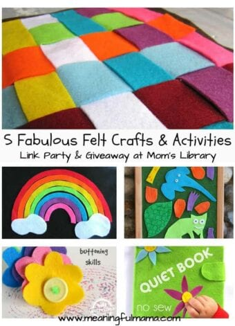 Five Fabulous Felt Crafts and Activities
