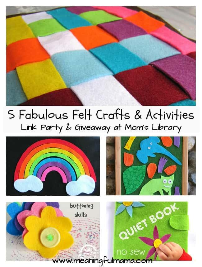 felt crafts and activities